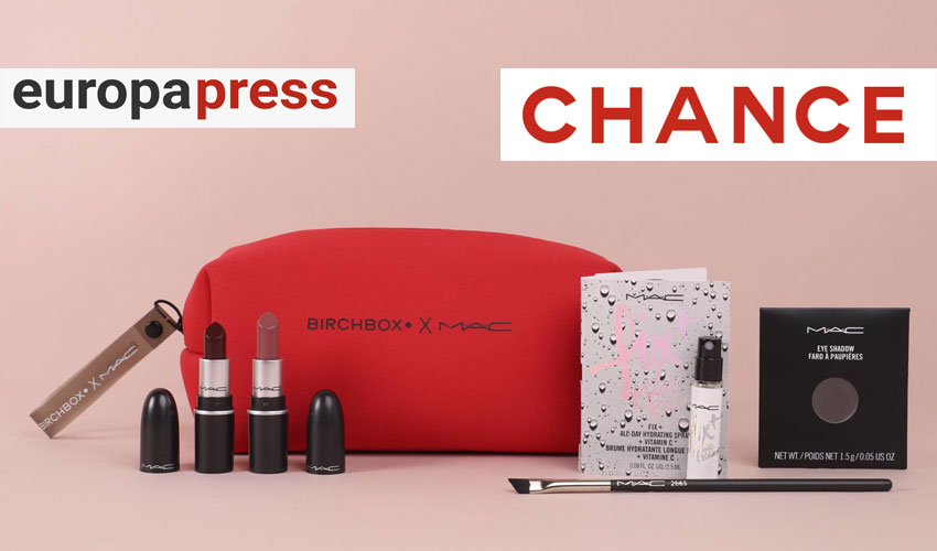 La edición limitada de Birchbox & Mac en Europa Press