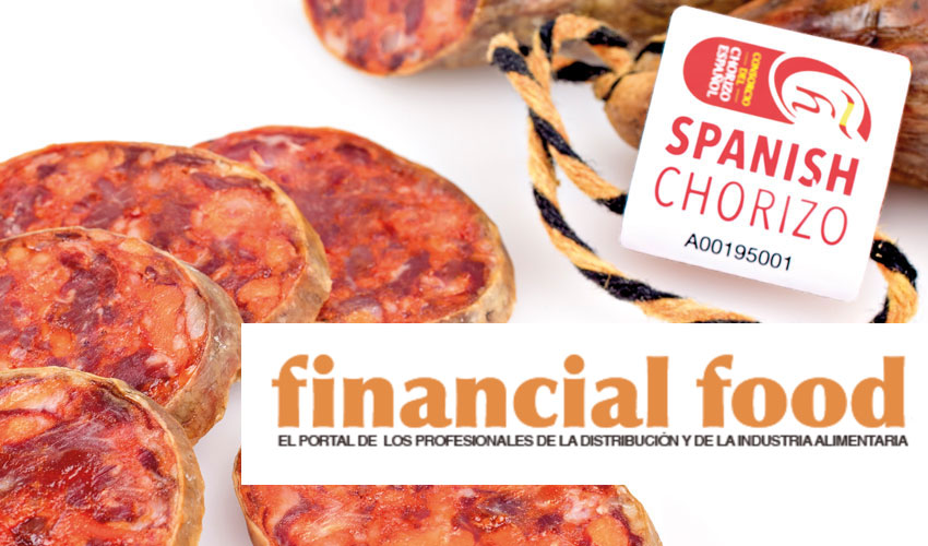El Consorcio del Chorizo Español en Financial Food