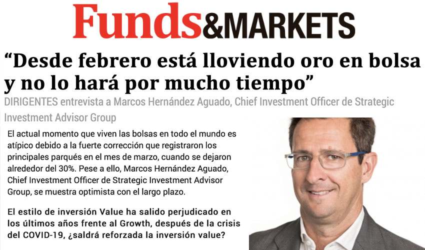 Entrevista a Marcos Hernández Aguado, Chief Investment Officer de SIA